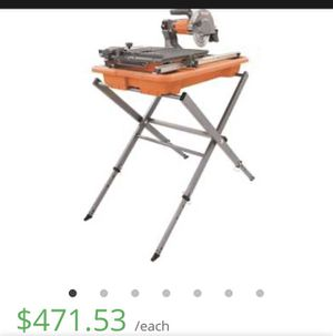 """Ridged Tile saw"""" Brand New"""" for Sale in Rancho Cucamonga, CA"""