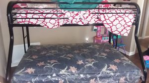 Kid's bunk beds futon twin and full for Sale in Americus, GA