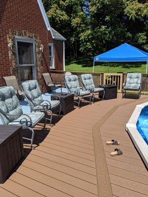 Deck/ Patio chairs 550 Obo for Sale in Monessen, PA