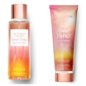 Victoria secret velvet petals Lotion/mist set of 2 for Sale in Perris, CA