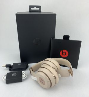 Beats by Dr. Dre Solo 3 Wireless Matte Gold for Sale in Boca Raton, FL