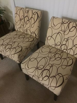 padded chairs both for $80 for Sale in Rockville, MD