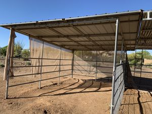 Shades, corrals. Already disassembled! for Sale in Gilbert, AZ