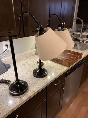 HUNTER lamp set; excellent condition for Sale in Baltimore, MD