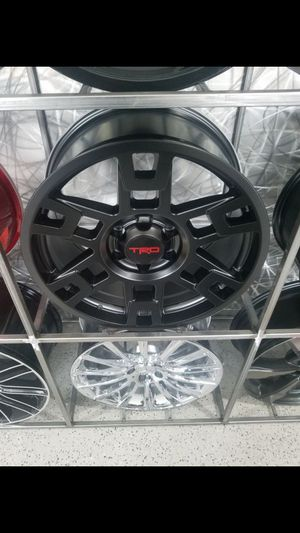17x8 6x139 et5 toyota TRD rep wheels fits Tacoma 4runner FJ rim wheel and tire shop for Sale in Tempe, AZ