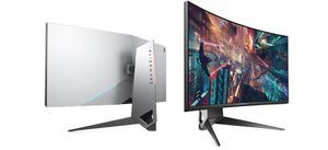 """Alienware AW3418DW 34 """" Ultrawide Curved Gaming Monitor with G-Sync - 120 Hz - IPS for Sale in Hialeah, FL"""