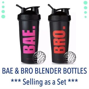 Blender Bottle Set BAE BRO for Sale in Pittsburg, CA