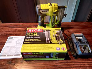 Ryobi Nailer w/ Battery + Charger for Sale in Beaverton, OR