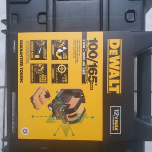 Dewalt 5 Spot+cross Line Laser FIRM for Sale in Lakewood, CA