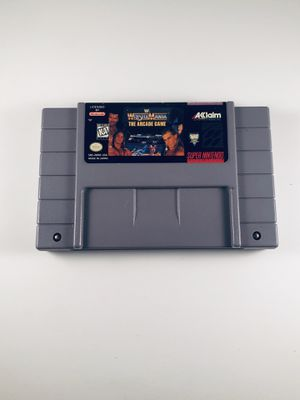 Wwf Wrestlemania arcade game Super Nintendo snes for Sale in Long Beach, CA
