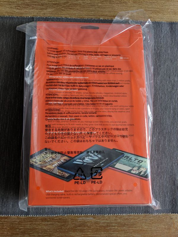 """Brand New Unopened Amazon Fire 10"""" Tablet"""