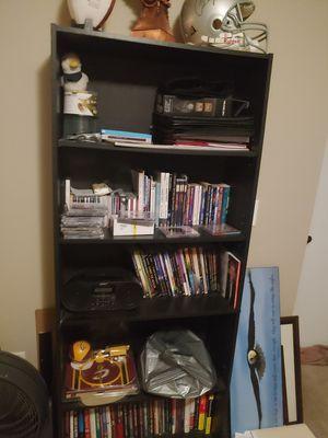 6ft black bookshelves for Sale in Columbus, OH