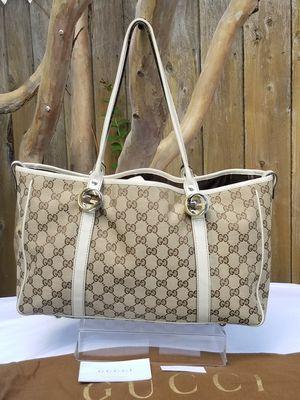 Auth GUCCI GG Shoulder Tote handbag for Sale in Arlington, TX