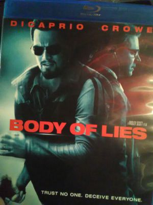 Body Of Lies Blu Ray movie for Sale in Ontario, CA