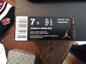 Jordan 6 rings for Sale in Lexington, KY
