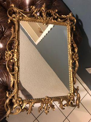 Antique Vintage Victorian Gold Ornate Mirror for Sale in Fort Lauderdale, FL