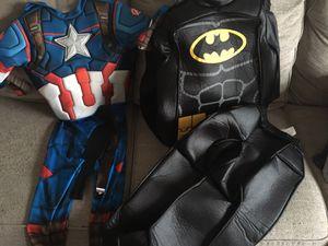 Batman and Captain America costumes for Sale in San Antonio, TX