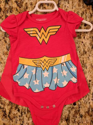 Wonderwoman baby costume (3-6 months) for Sale in Suwanee, GA