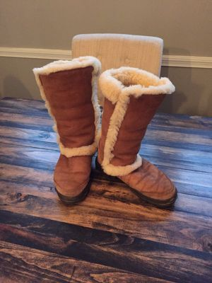 Fur Ugg Boots-Size 7 for Sale in Silver Spring, MD