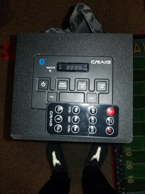 Graig tower speaker with remote. for Sale in Sterling, VA