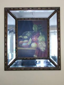36 inch Mirror Framed Oil Painting on Canvas for Sale in Washington, DC