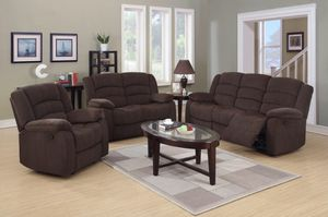 Sofa and love seat and chair for Sale in Manassas, VA