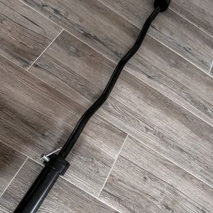 Brand new in box Olympic weight EZ Easy bicep curl bar barbell (not negotiable) for Sale in Chula Vista, CA