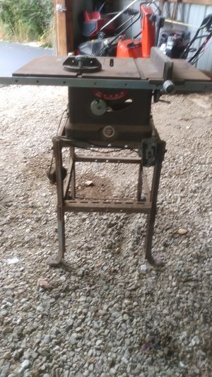 Powercraft table saw for Sale in Old Mill Creek, IL