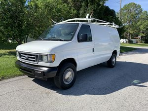 2003 ford e250 cargo van 33,000 miles fully equipped for Sale in St.Petersburg, FL