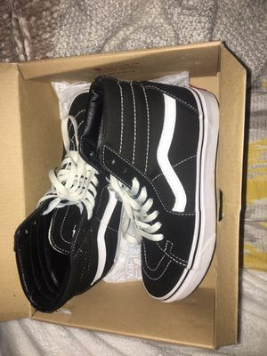 Vans black high top for Sale in Stow, OH