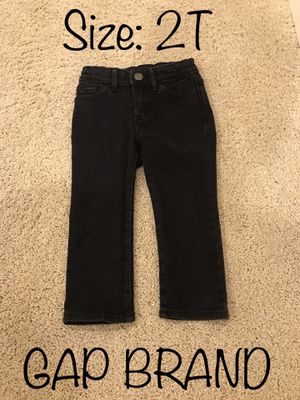 2T Black Gap Brand Jeans for Sale in Chula Vista, CA