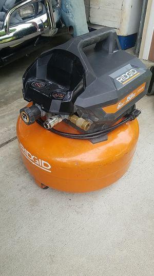 Ridgid 6 Gallon Pancake Air Compressor for Sale in Ontario, CA