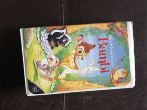 Bambi VHS for Sale in Lakewood, CO