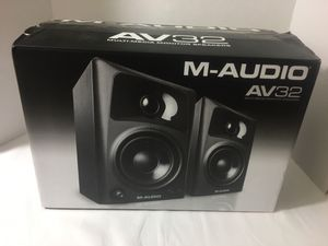 M-Audio AV 32 Monitor Speakers for Sale in Fairfax, VA