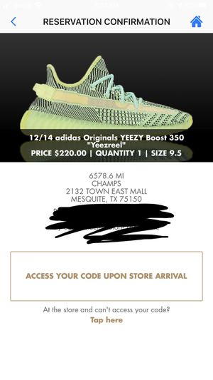 Adidas Yeezy 350 V2 Yeezreel for Sale in Cedar Hill, TX