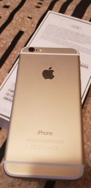 iPhone 6 Plus (16GB , 64GB , 128GB ) Unlocked For warranty | All colors Available|| Fully Functional( With Finger print ) for Sale in Zephyrhills, FL