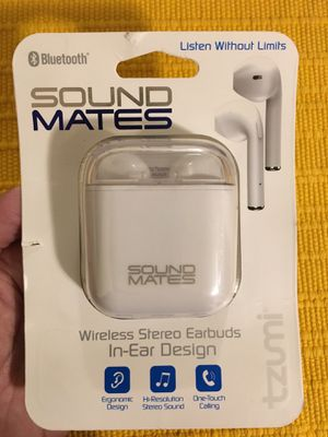 Sound mates wireless earbuds for Sale in Ashland, OR