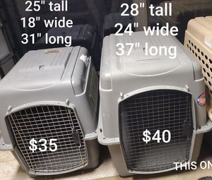 Large Dog cage kennel crate for Sale in Cedar Hill, TX