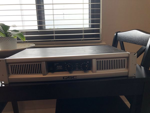 Amplifier Sound system. Stereo Amp