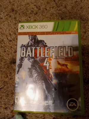 Battlefield 4 xbox 360 for Sale in Reedley, CA