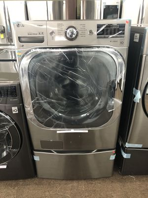 LG washer and pedal for Sale in Passaic, NJ