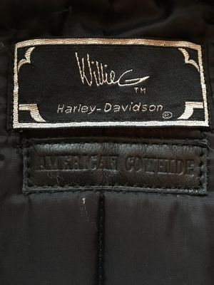 Willie G Harley motorcycle jacket. for Sale in Delaware, OH