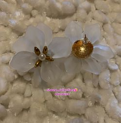 Flower Bomb Stud Earrings for Sale in The Bronx,  NY