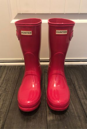 Authentic Hunter Boots-Hot Pink for Sale in Sanford, NC