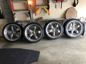 20x9 SHELBY MUSTANG WHEELS & TIRES for Sale in Mount Airy, MD
