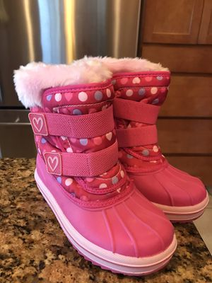 Girls Snow Boots - 11/12 for Sale in Orting, WA