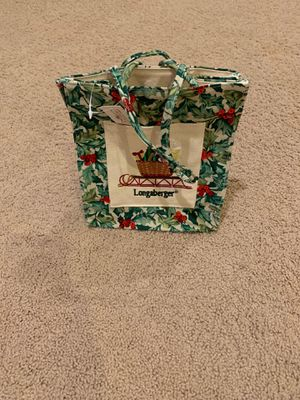 Longaberger Tote for Sale in Arlington Heights, IL