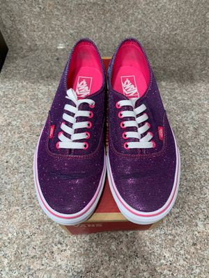 Vans pink purple shimmer men's size 10 for Sale in El Centro, CA
