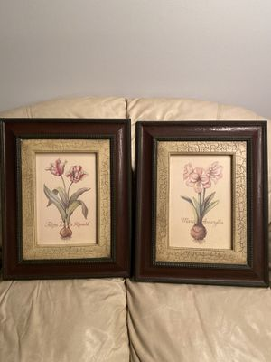 2 floral home interior pieces for Sale in Smyrna, DE