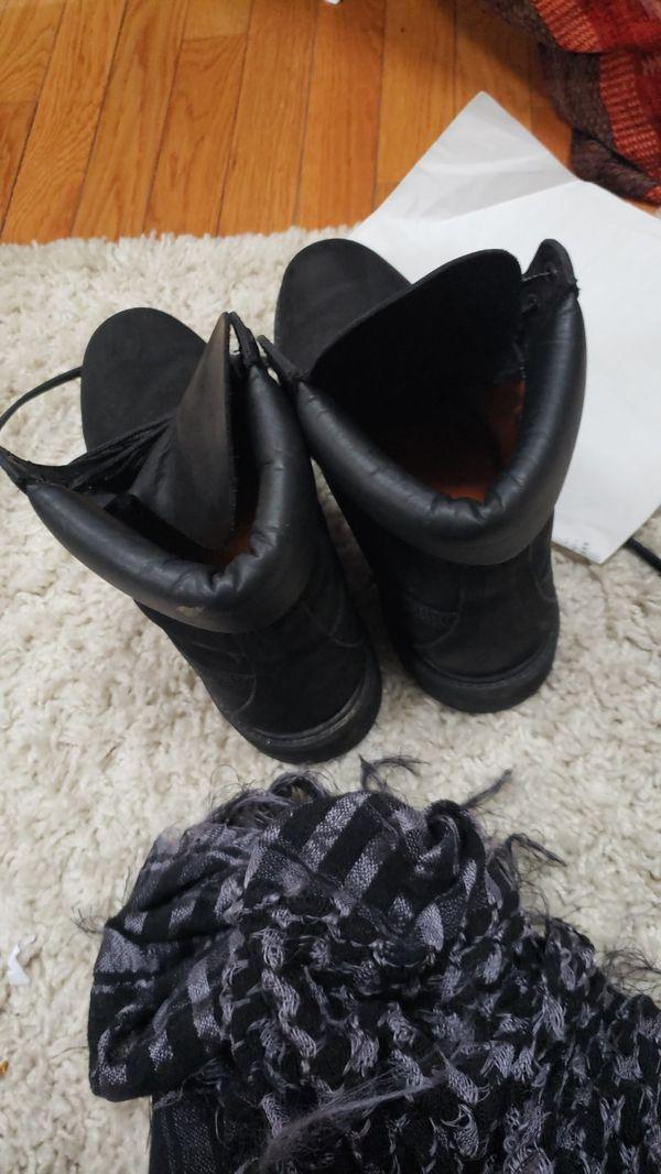 Men's timberland waterproof Boots Black 10073